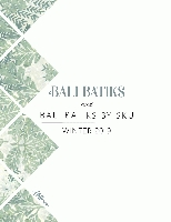 Hoffman Fabrics Winter 2019 Bali Batiks & Bali Batiks by SKU Catalog by Hoffman California Fabrics