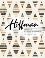 Hoffman Fabrics Spring 2018 Cappuccino Project Book by Hoffman California Fabrics