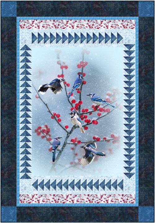 Blue Jay Panel by
