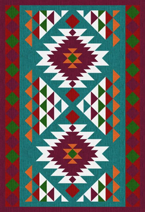 Navajo Throw by