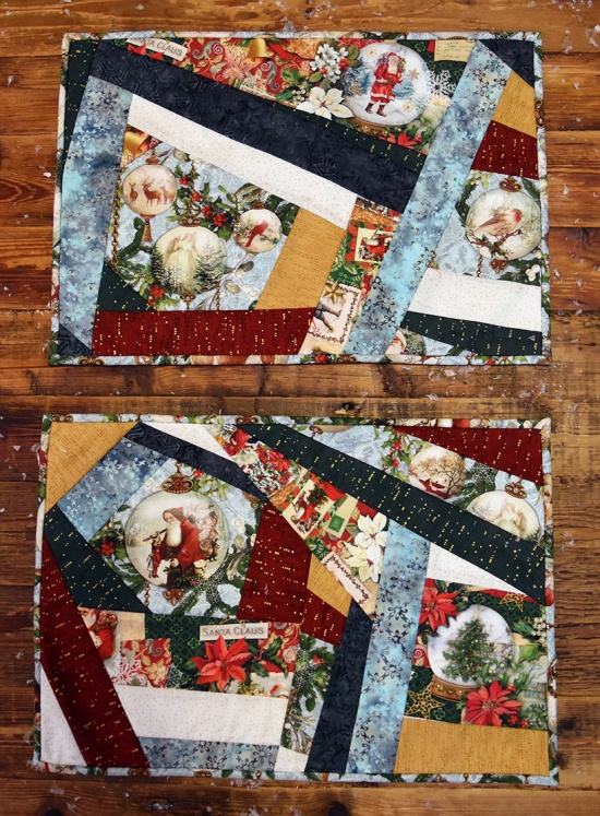 Enchanted Ornaments placemats by