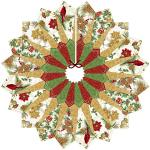Dresden Table Topper, Tree Skirt & Placemats