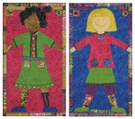 Brave/Bold Girl quilt pattern by